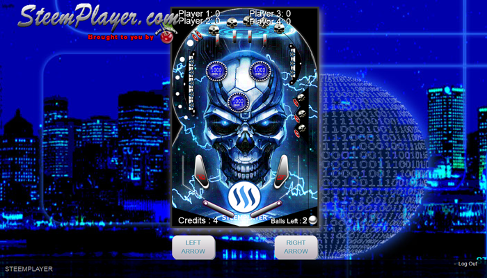 SteemPlayer Le Skull Pinball