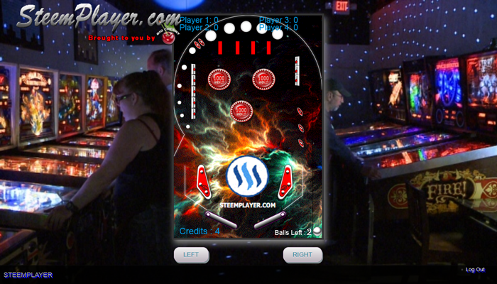 SteemPlayer SuperPinBall