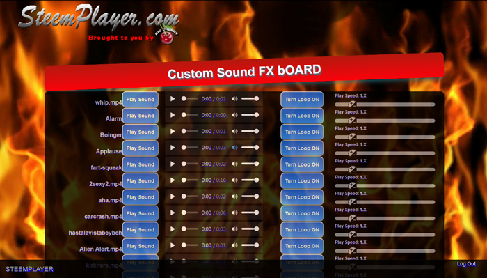Custom SoundFX Board