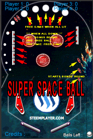 SUPER SPACE PINBALL