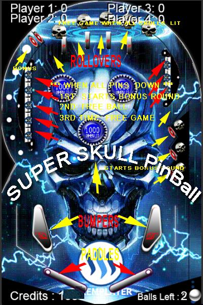 SUPER SKULL PINBALL